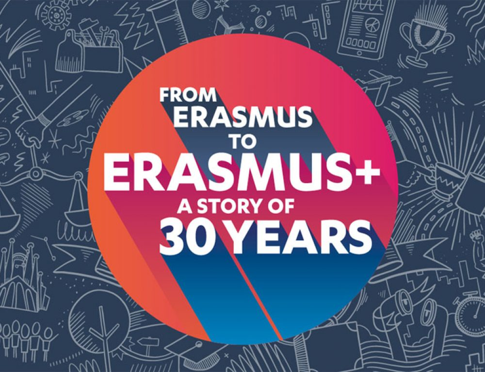 The EU celebrates 30 years of its 'Erasmus' programme