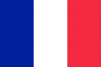 Bandera de Francia EVS