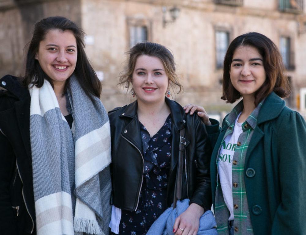 Almazán se internacionaliza con la presencia durante medio año de tres jóvenes voluntarias europeas