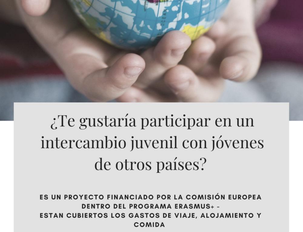 ¿Te gustaría participar en un intercambio juvenil (youth exchange) con jóvenes de diferentes países?