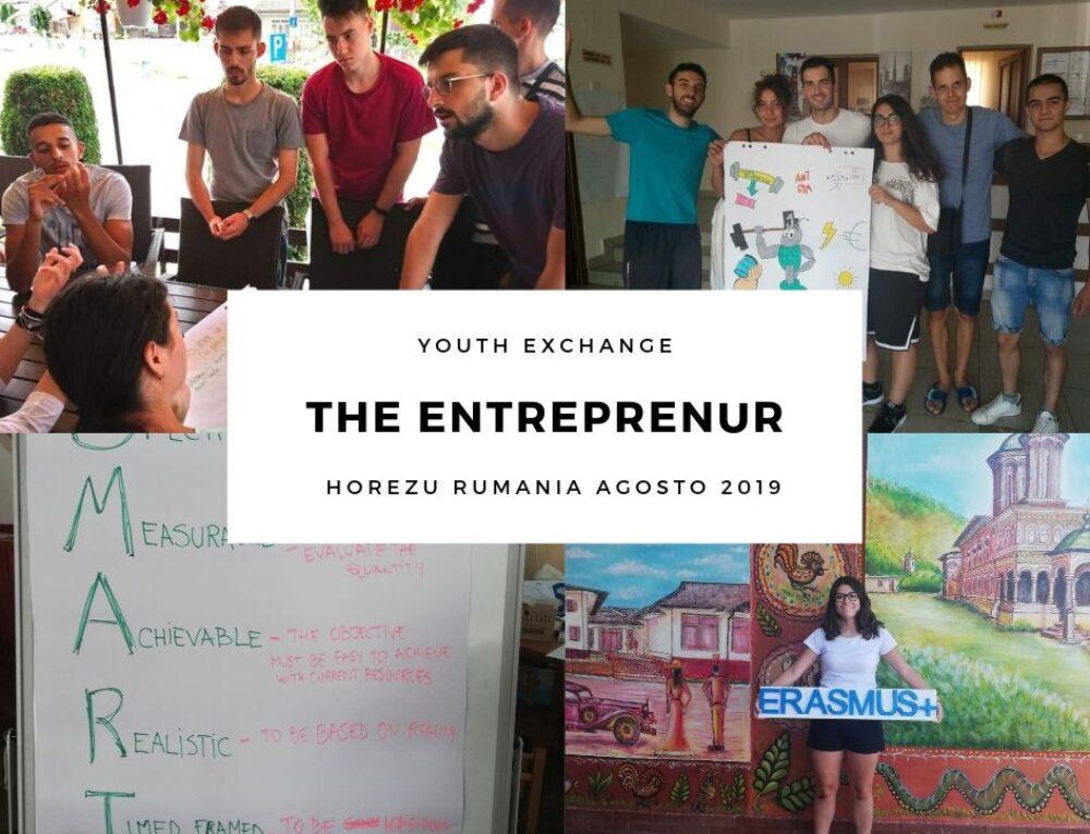 """Mi experiencia en el intercambio juvenil organizado bajo el programa Erasmus plus """"THE ENTREPRENEUR"""""""