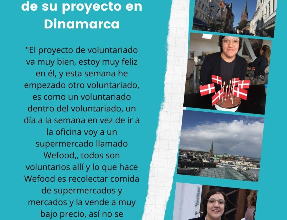 Testimonio de Voluntariado de Mayerli en la organización ICYE de Dinamarca