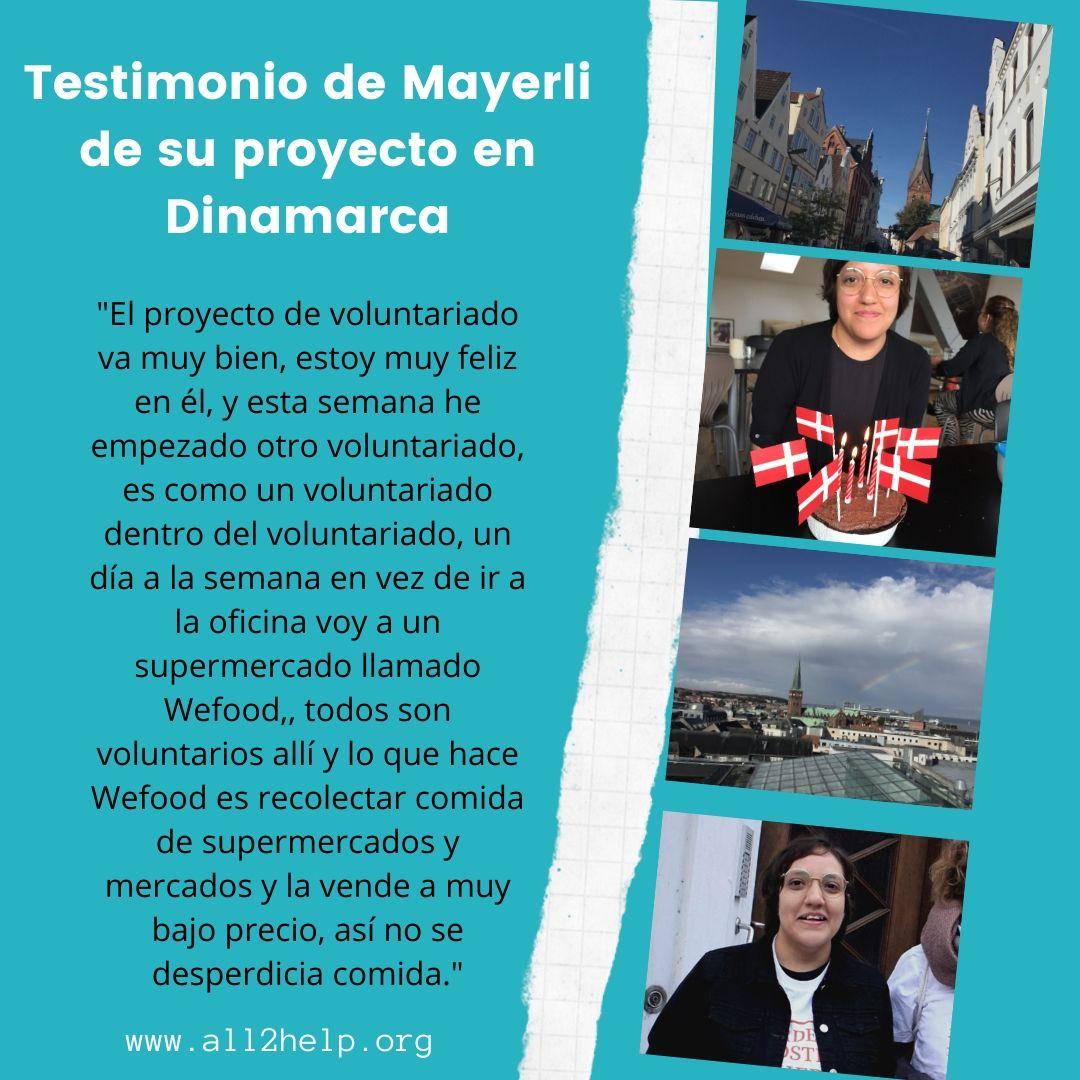 Testimonio de Voluntariado de Mayerli