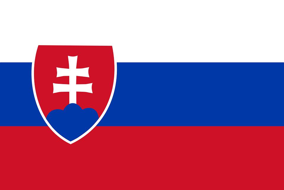 Bandera de Eslovaquia ESC