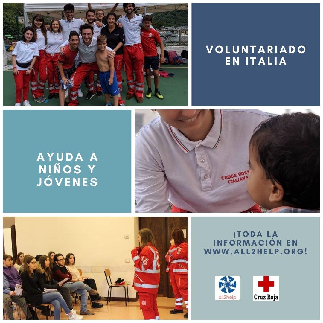 Voluntarios Cruz Roja Italia